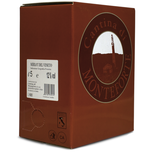 Merlot I.G.P., Cantina di Monteforte, Italien, 5 l Bag-in-Box