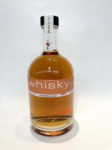 Blende-Whisky, 3 Jahre Fass, Haas, 43% Vol., 0,5 l Fl.